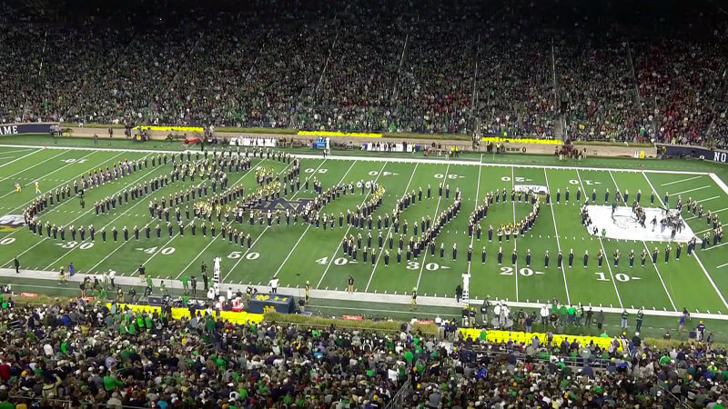 8 awesome things from the weekend in college marching band