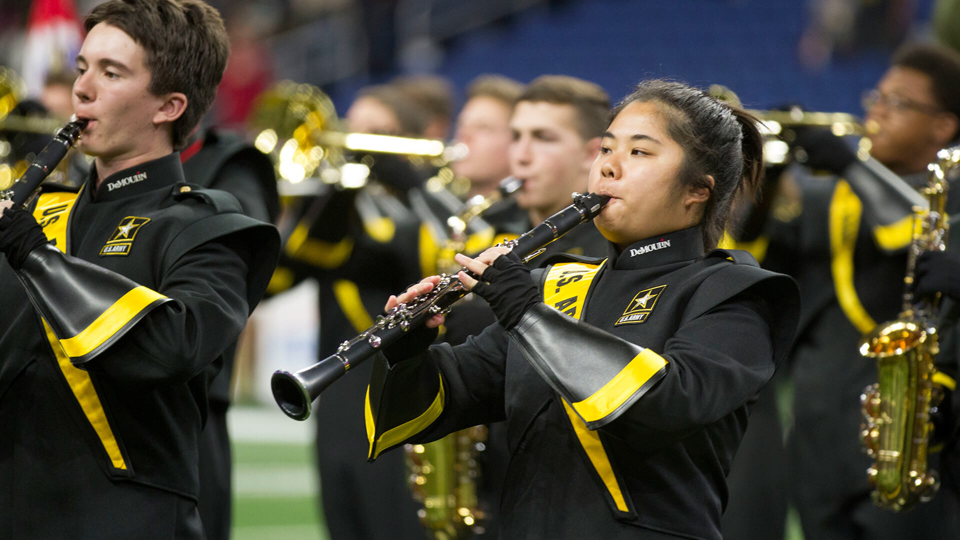 U.S. Army All-American Marching Band excels in San Antonio