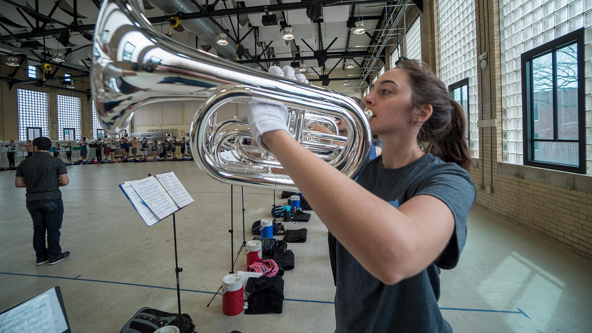 Blue Stars focus on putting music on the move