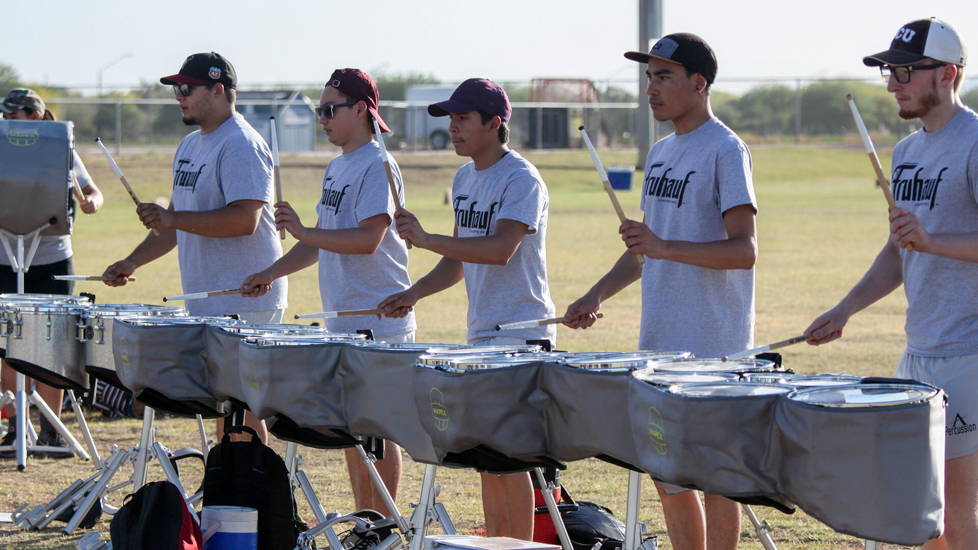 Academy April Camp Percussion