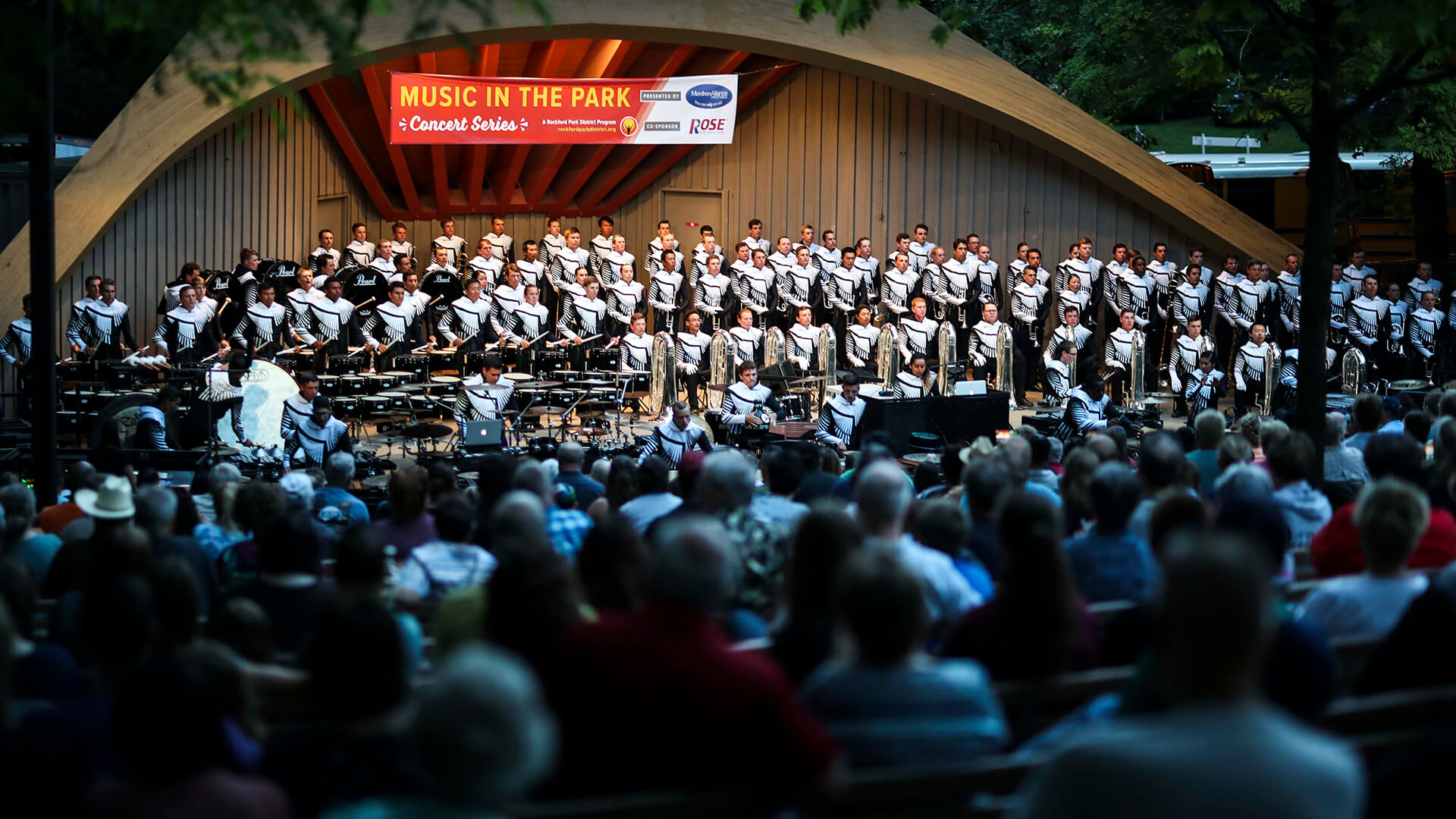 """Regiment returns home for annual """"Music in the Park"""" concert"""