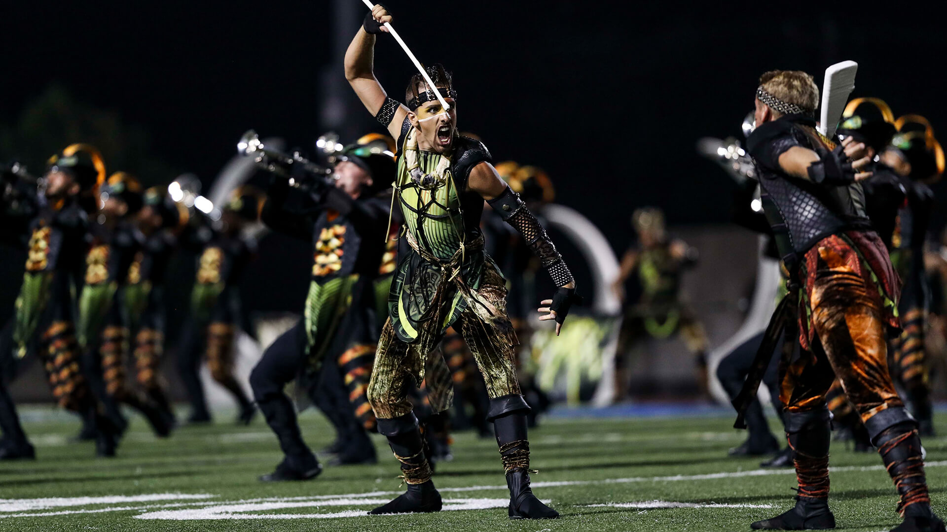 Carolina Crown roars through Allentown