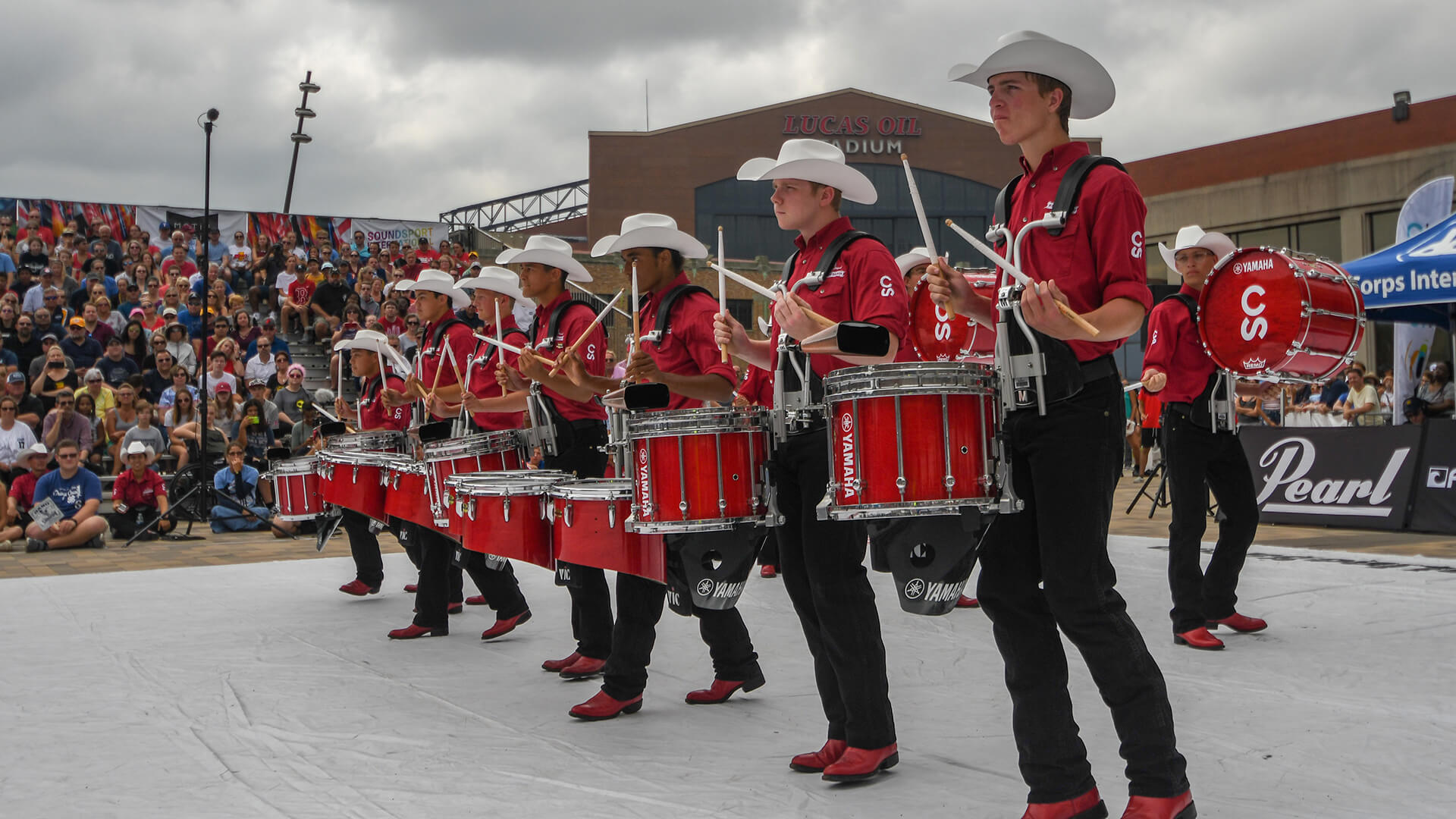 Calgary Stampede taking Indy DrumLine Battle crown back to Canada