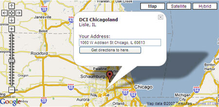 NEW DCI.org feature: 'Find Events Near You' on