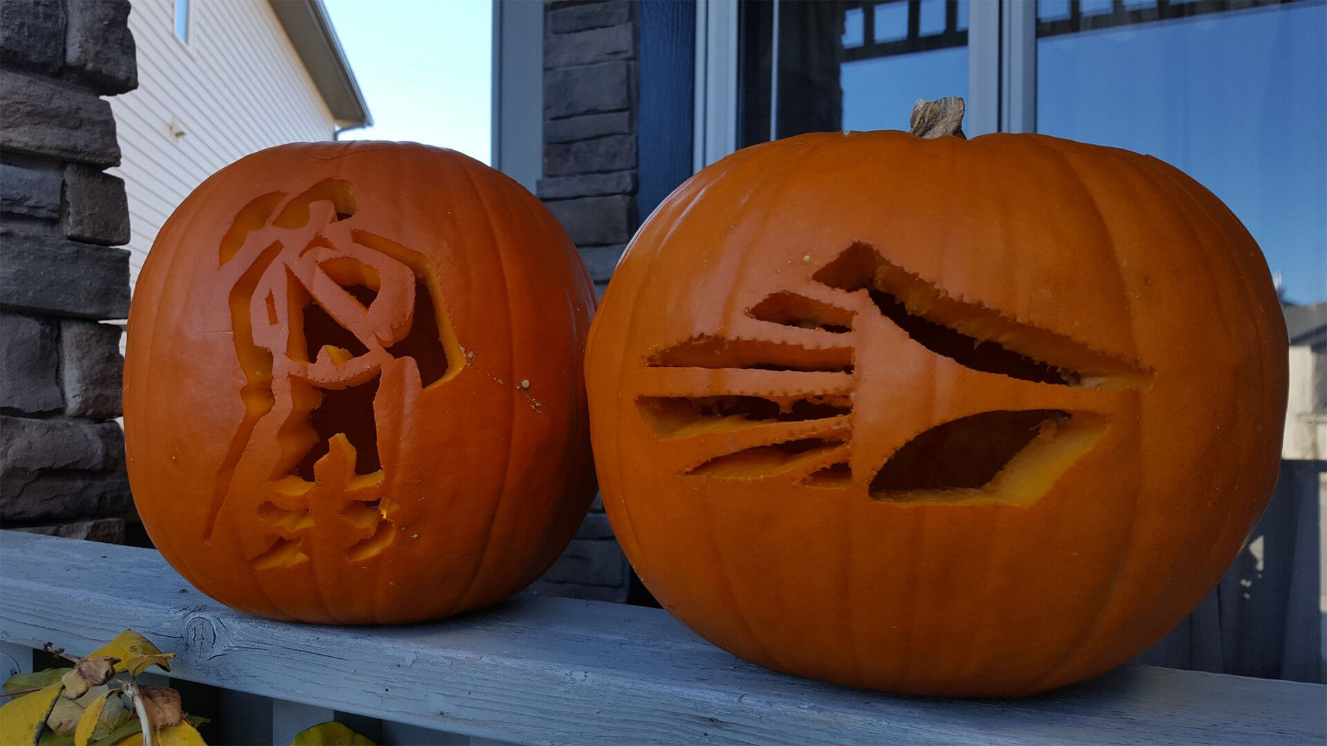 Drum corps pumpkins will put you in the Halloween spirit