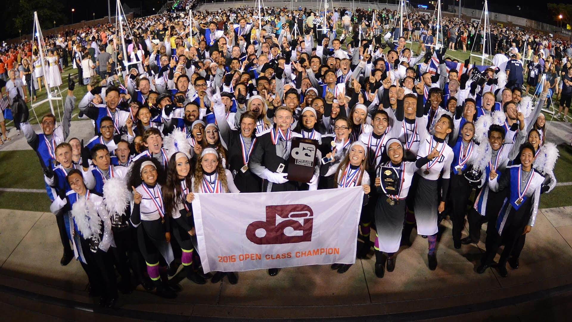 Blue Devils B over the moon with fifth Open Class title