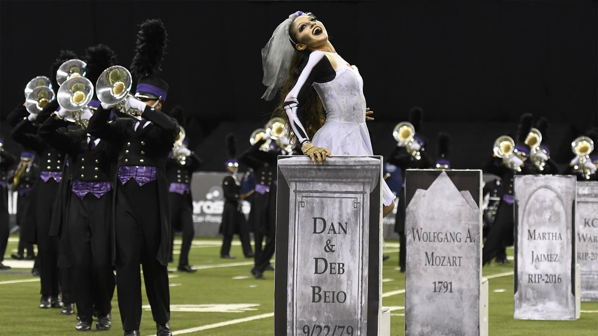 The 'Drum Corpse Bride' graveyard tour