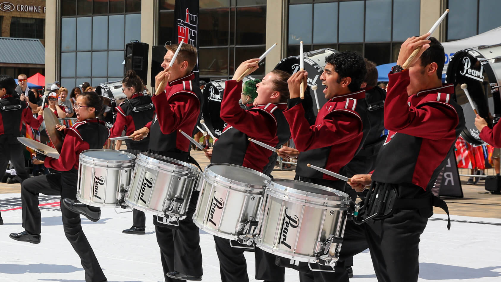 DrumLine Battle: McMaster Marching Band vs. The Diplomats