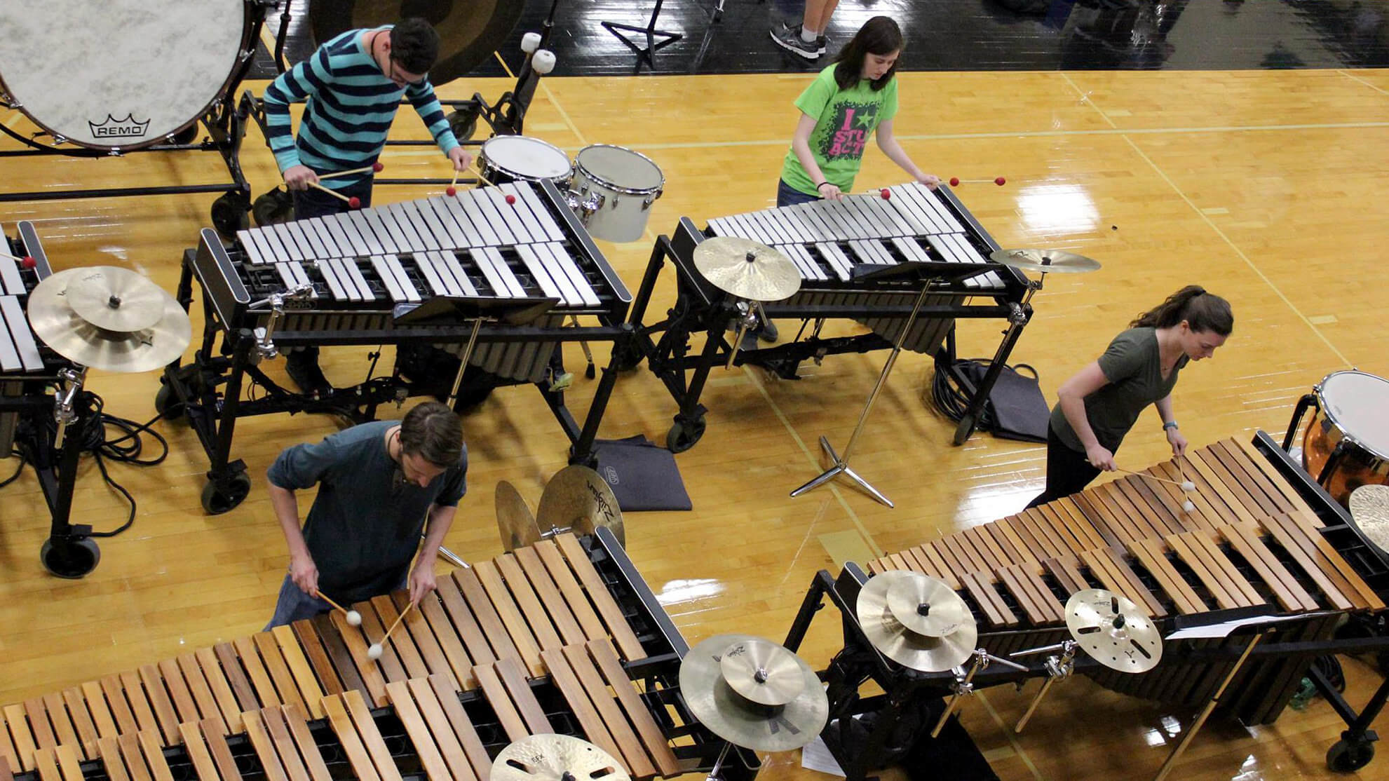 Spring has sprung and drum corps are blooming