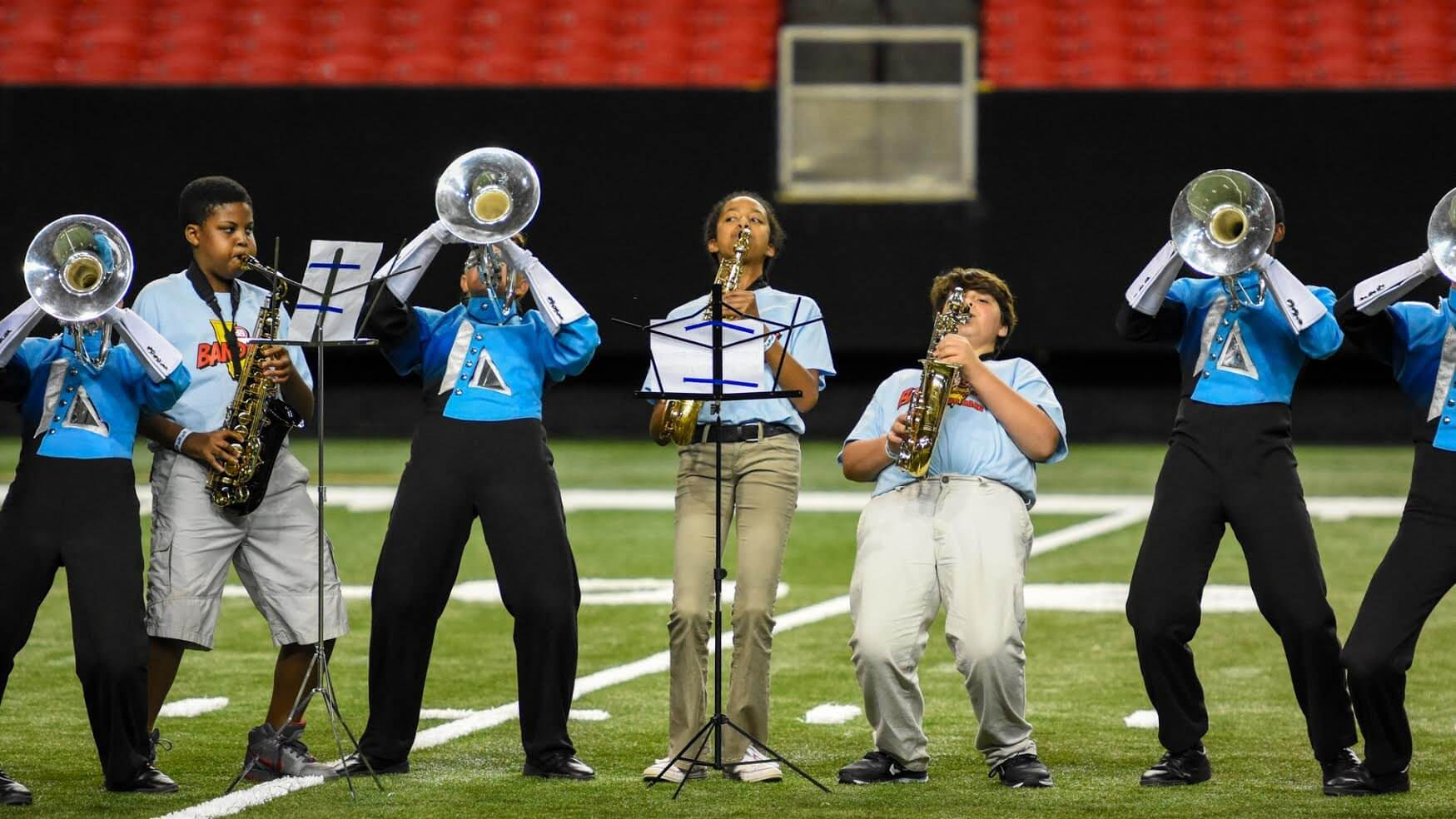 BANDtastic Georgia brings middle schoolers to the drum corps scene
