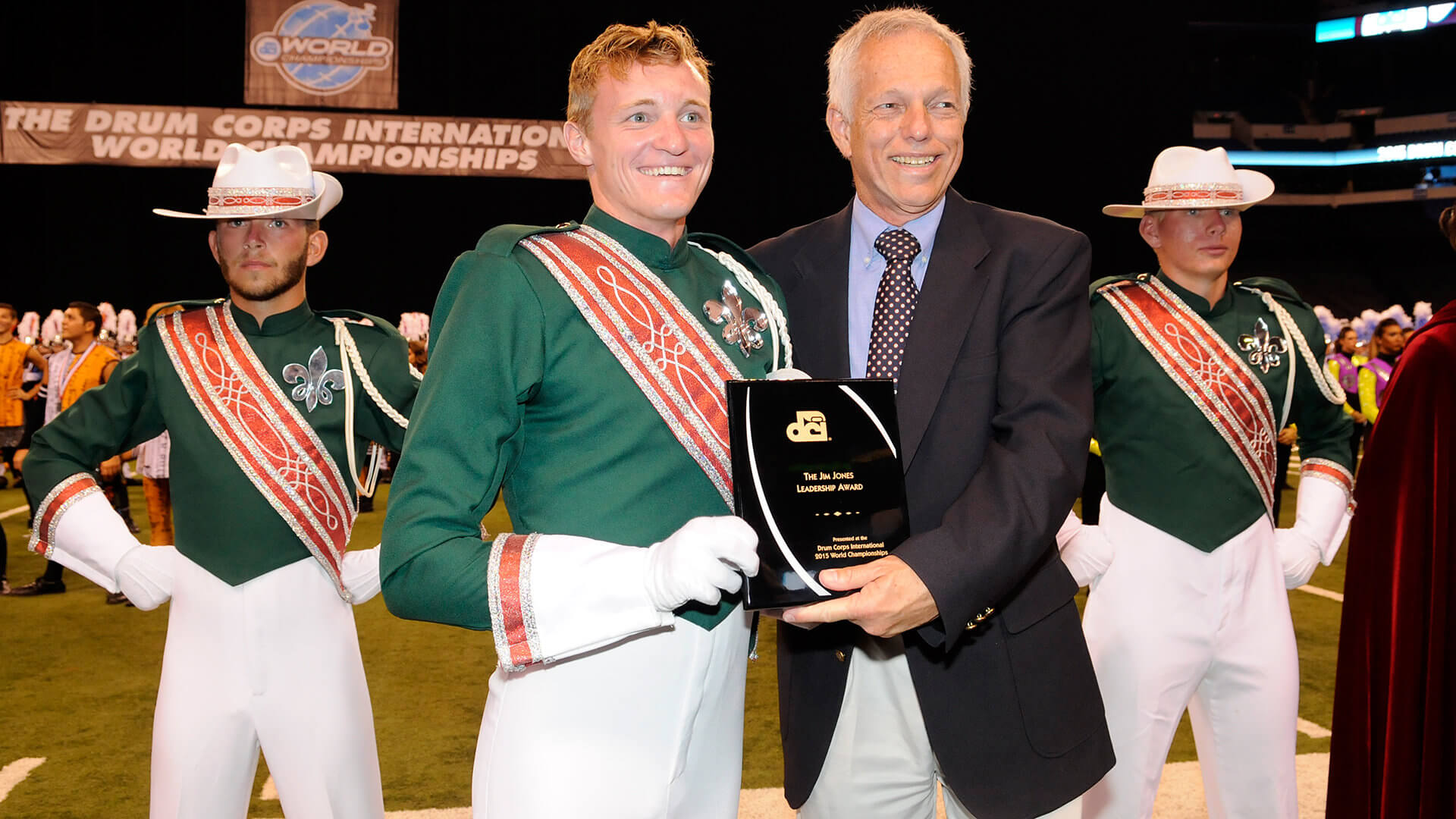 Scholarship recipients recognized at the DCI World Championships