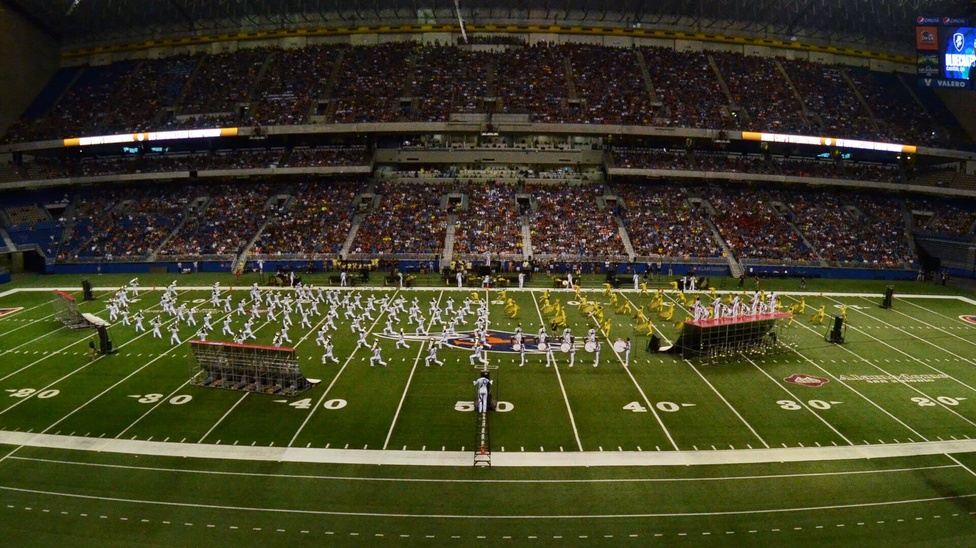 Record crowd sees Bluecoats win its first Southwestern Championship