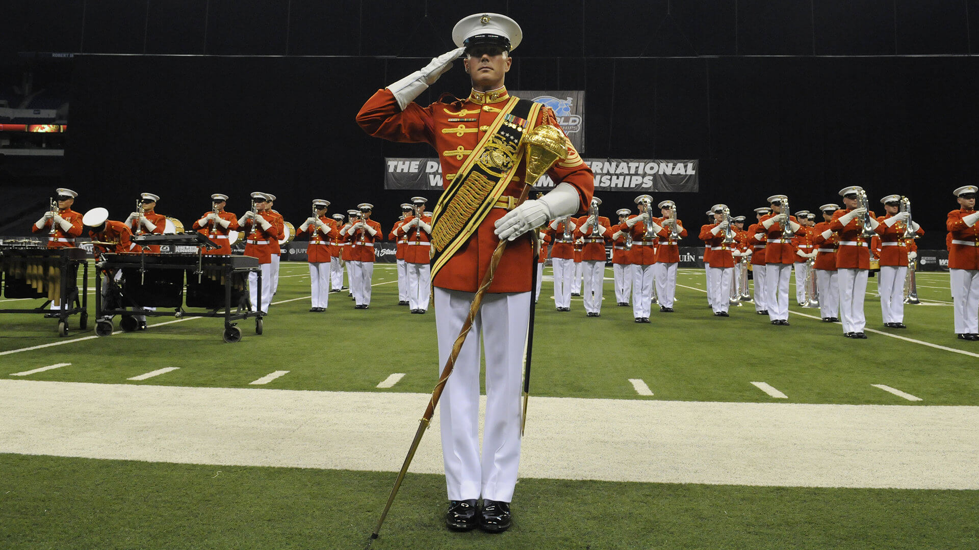 'The Commandant's Own' at the 2016 DCI Finals