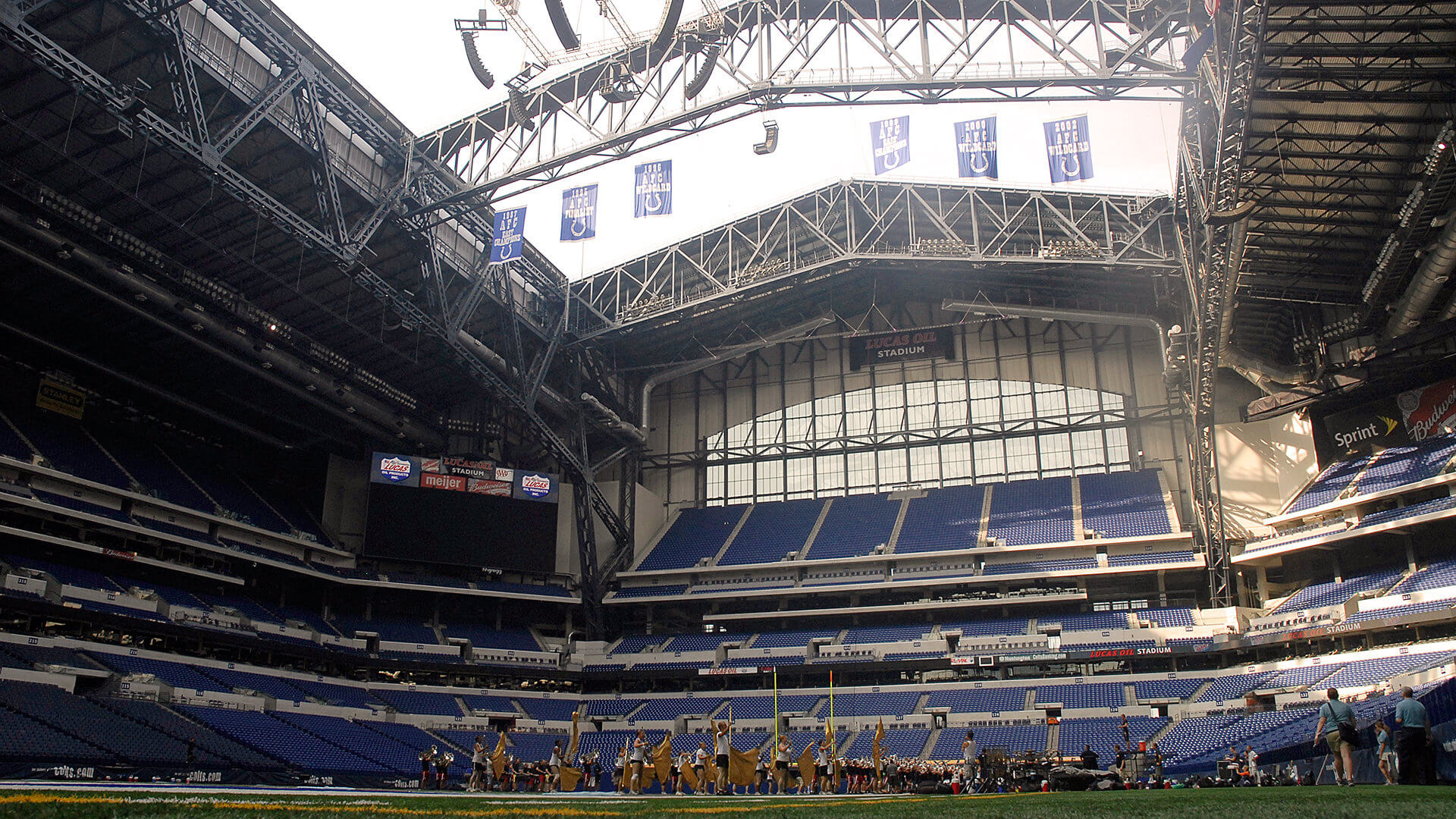 Plans for roof to be open at Wednesday's DCI Tour Premiere