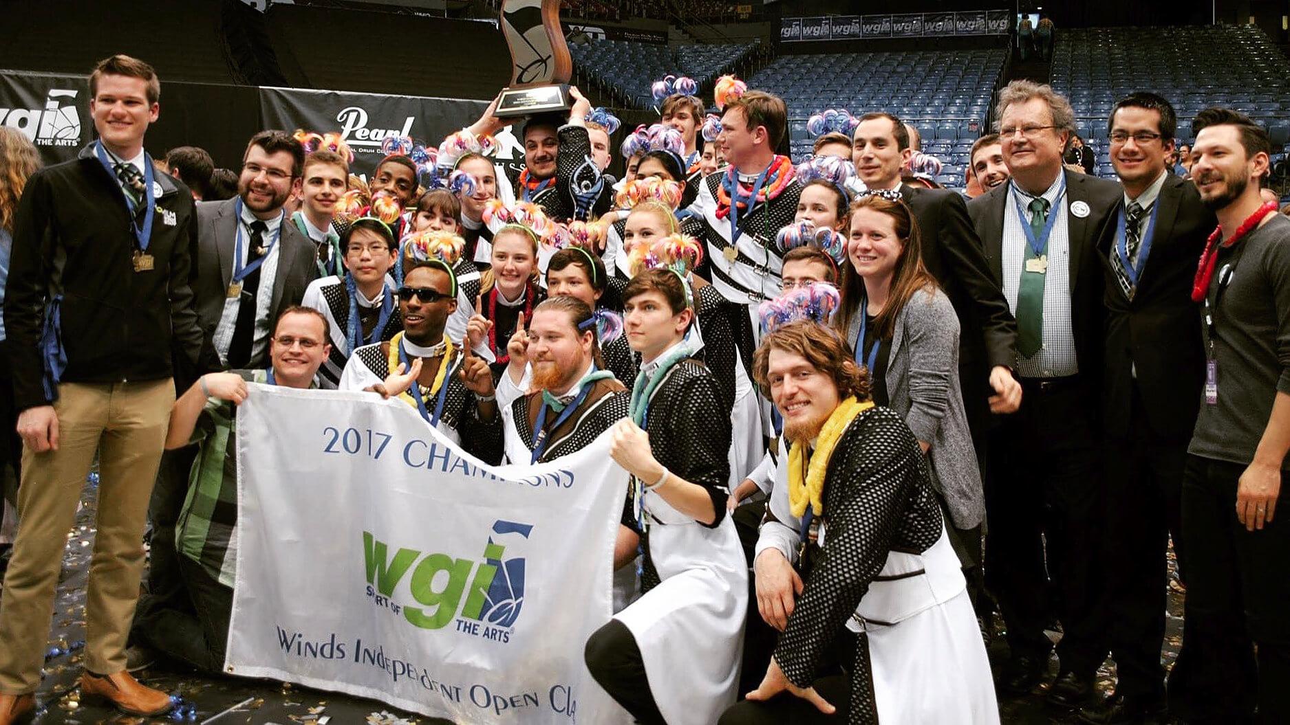 Cavaliers' Chromium takes gold in first WGI season