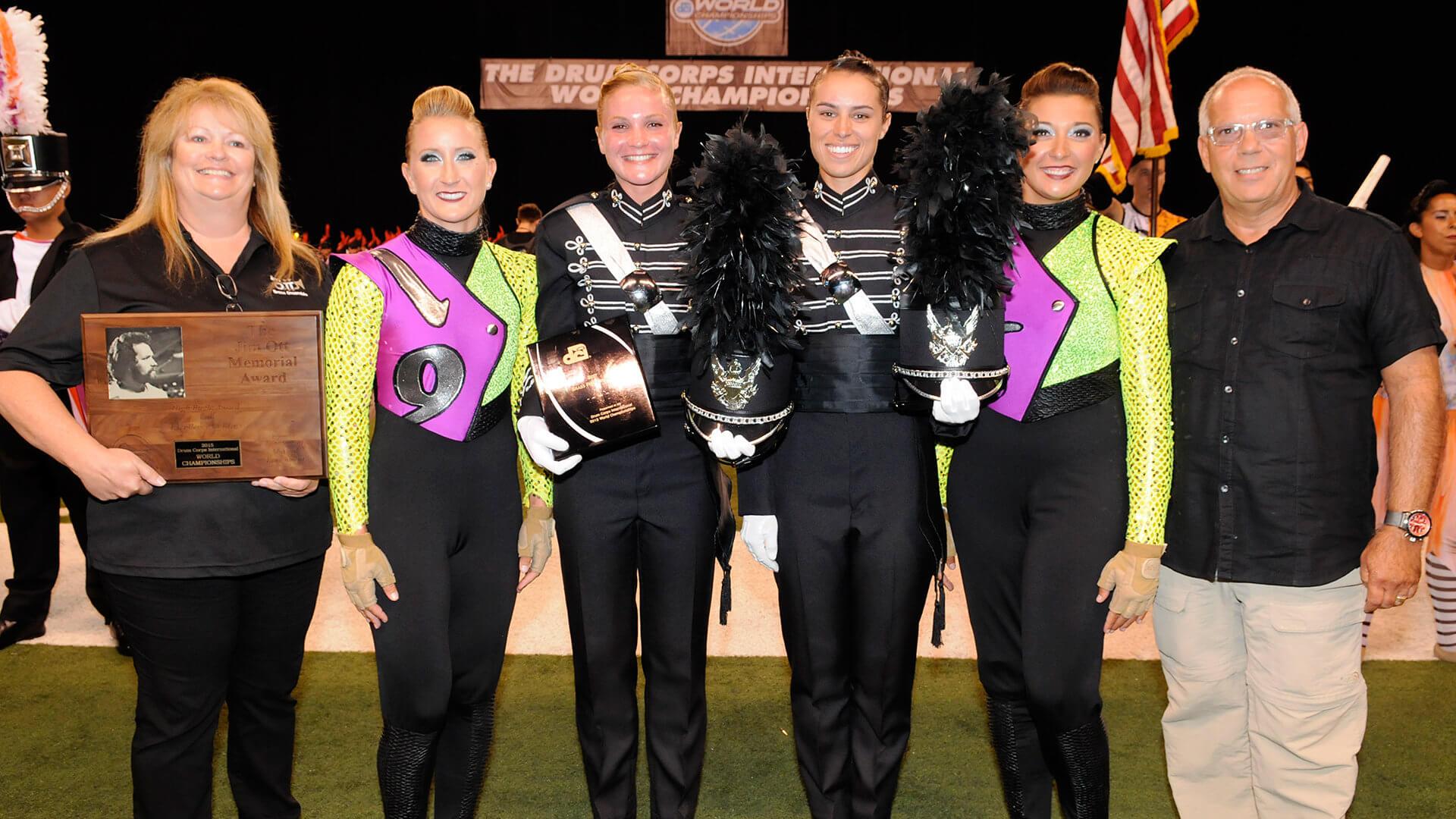 2015 DCI World Championship caption award winners