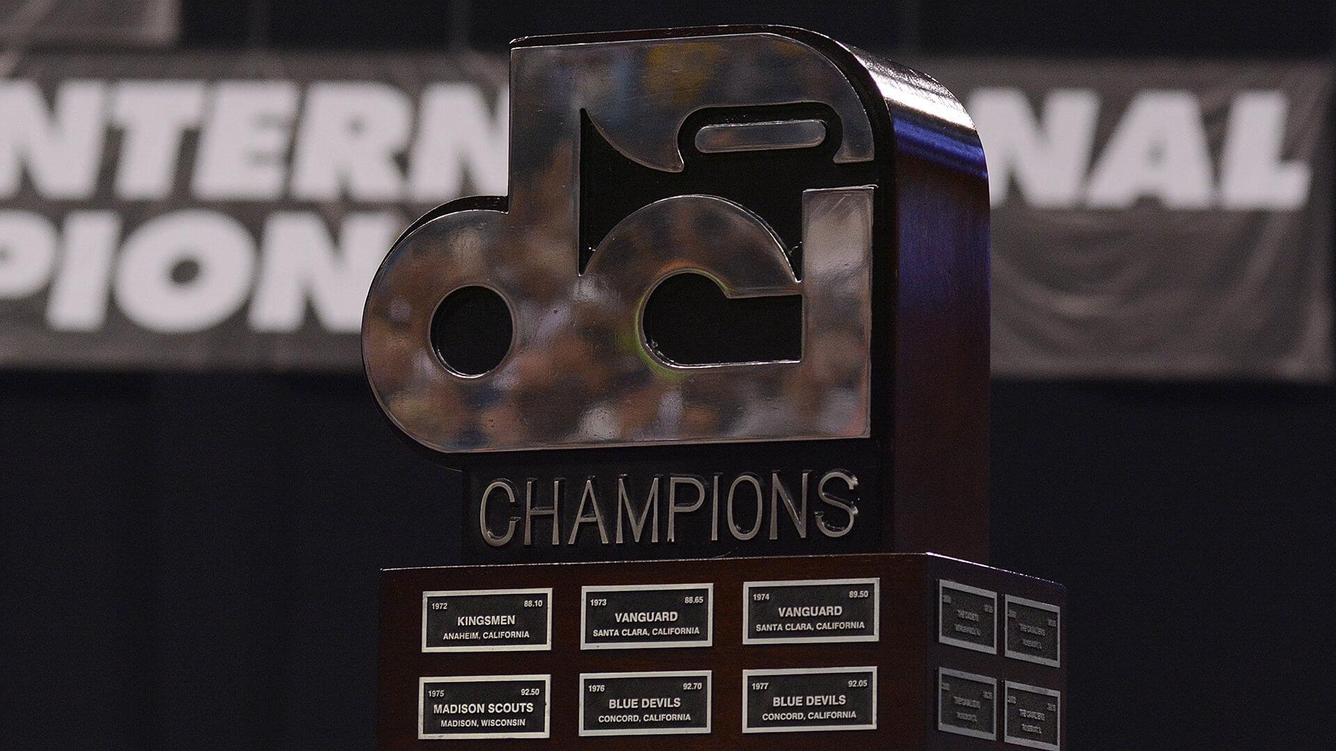Past DCI World Champions