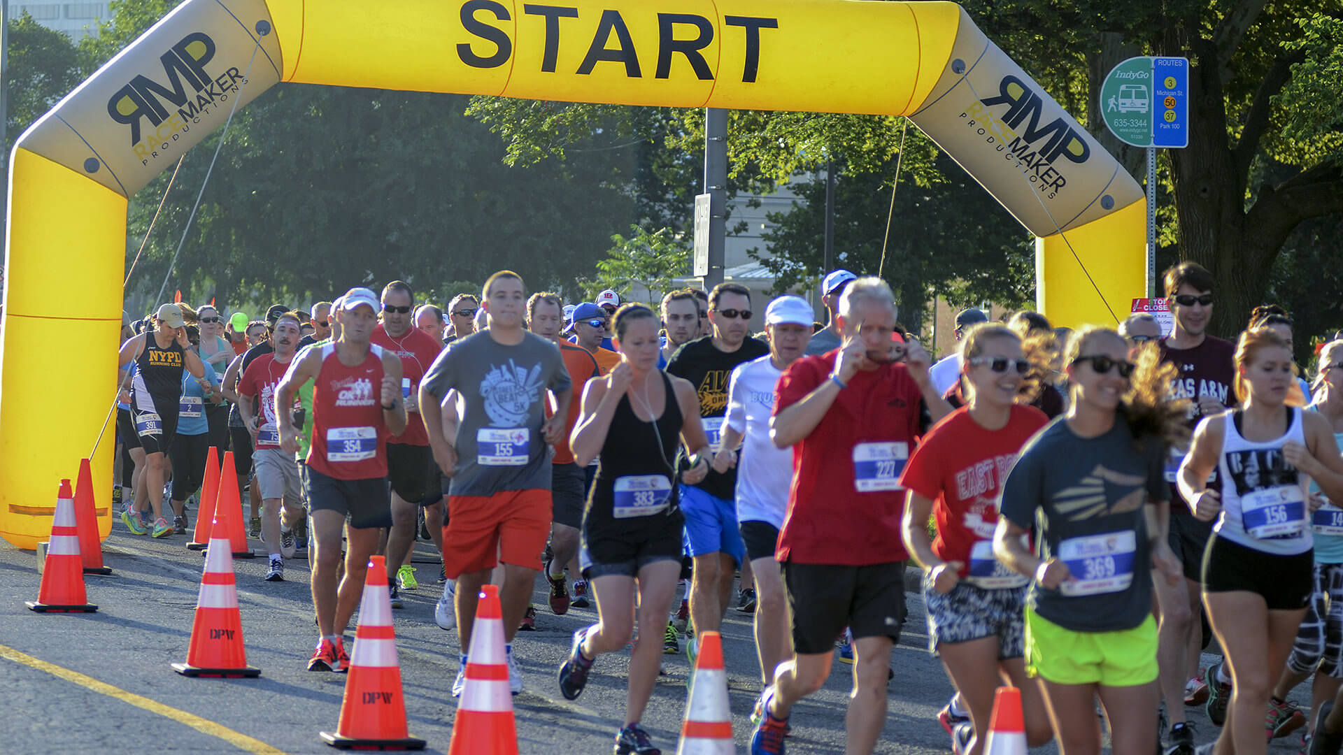 Street Beat 5K supports marching arts, heart health