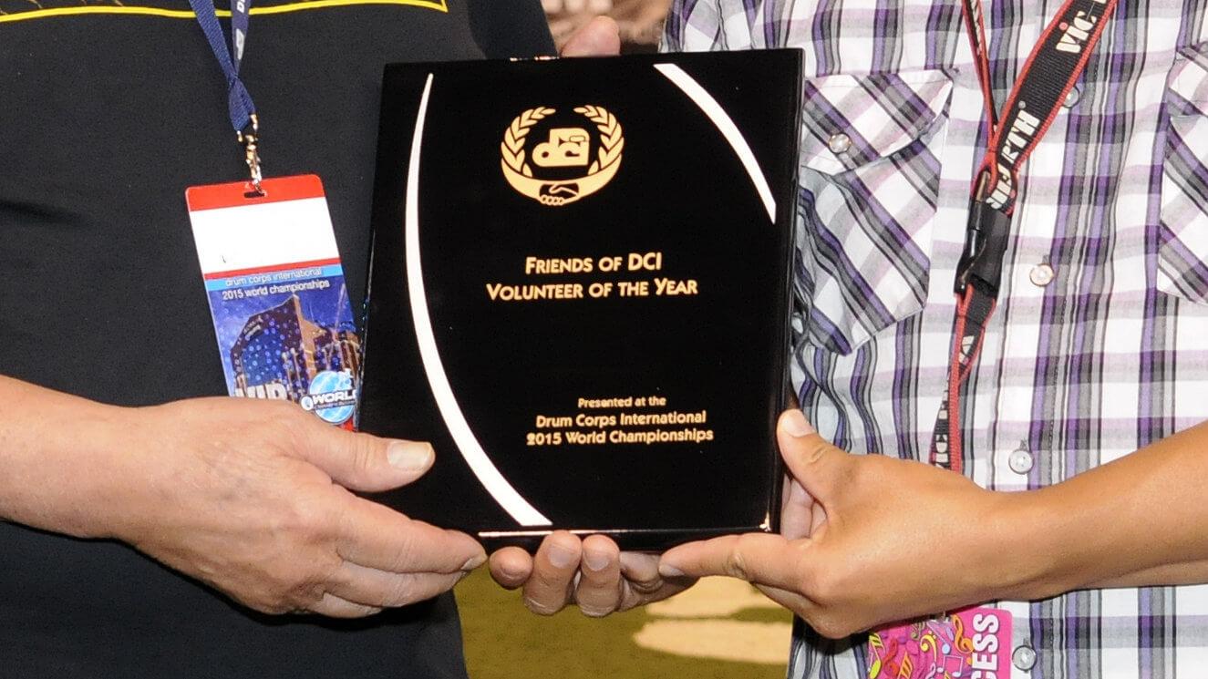 2016 DCI Volunteers of the Year