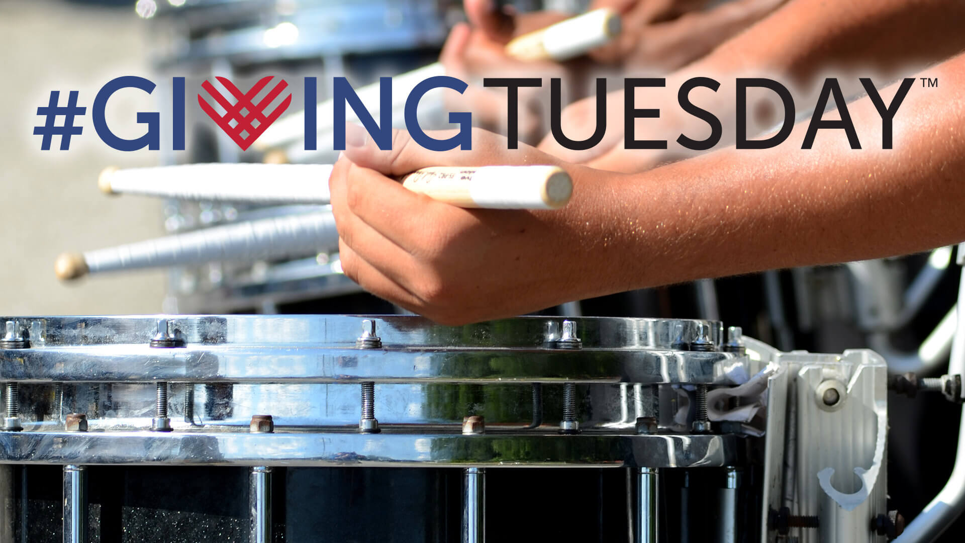 Drum corps get involved with #GivingTuesday