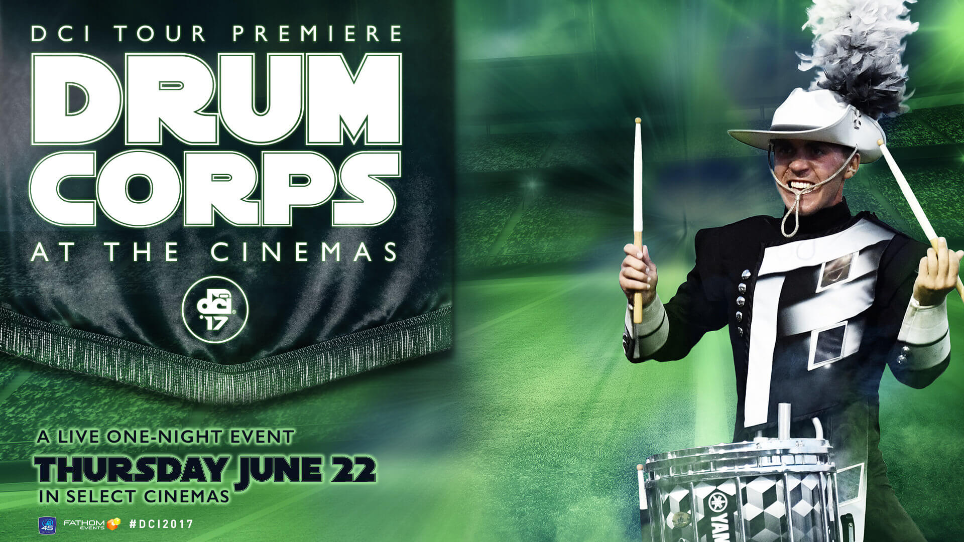 DCI Tour Premiere coming to select cinemas nationwide