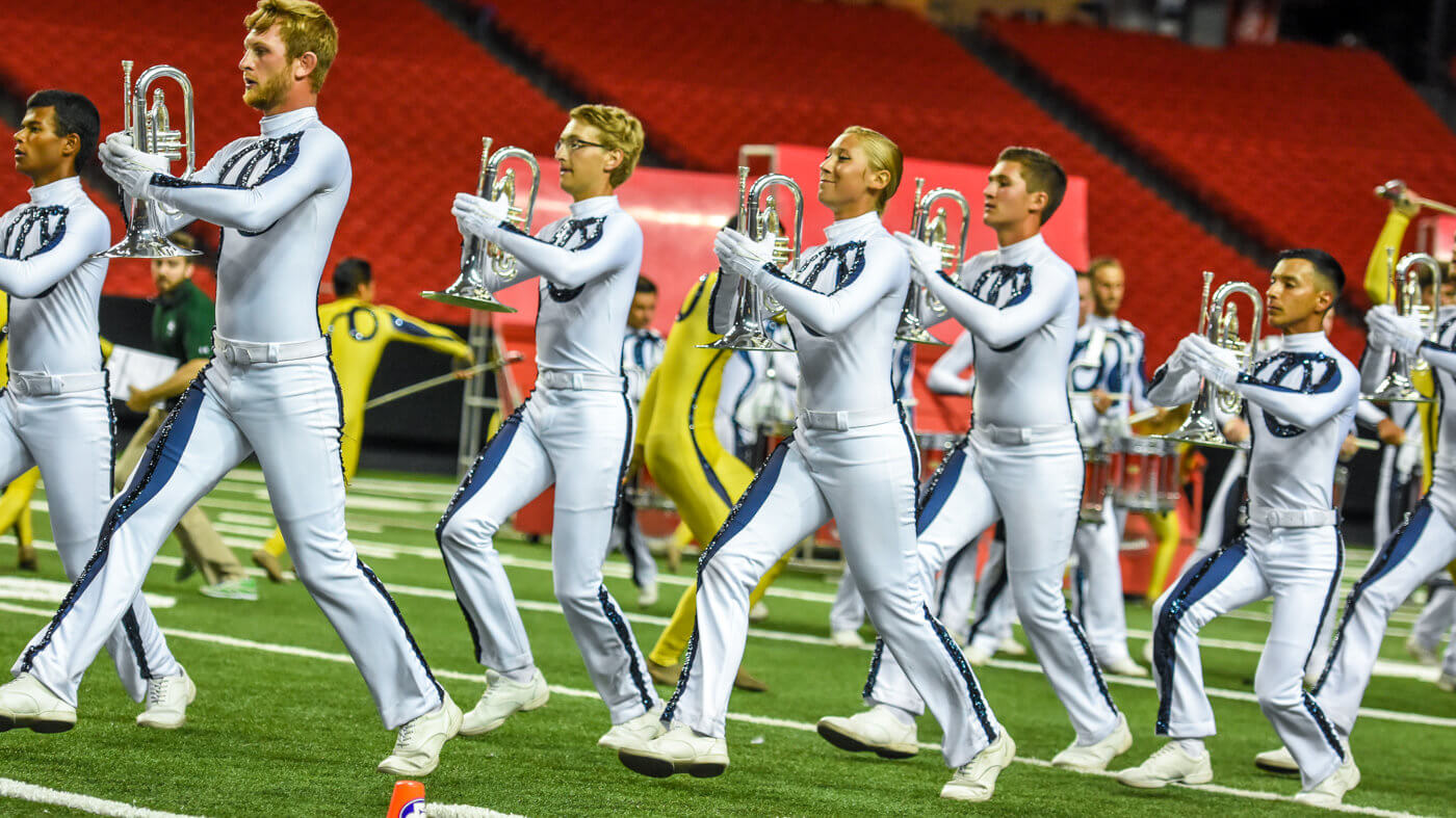 Georgia Dome last is Bluecoats? first