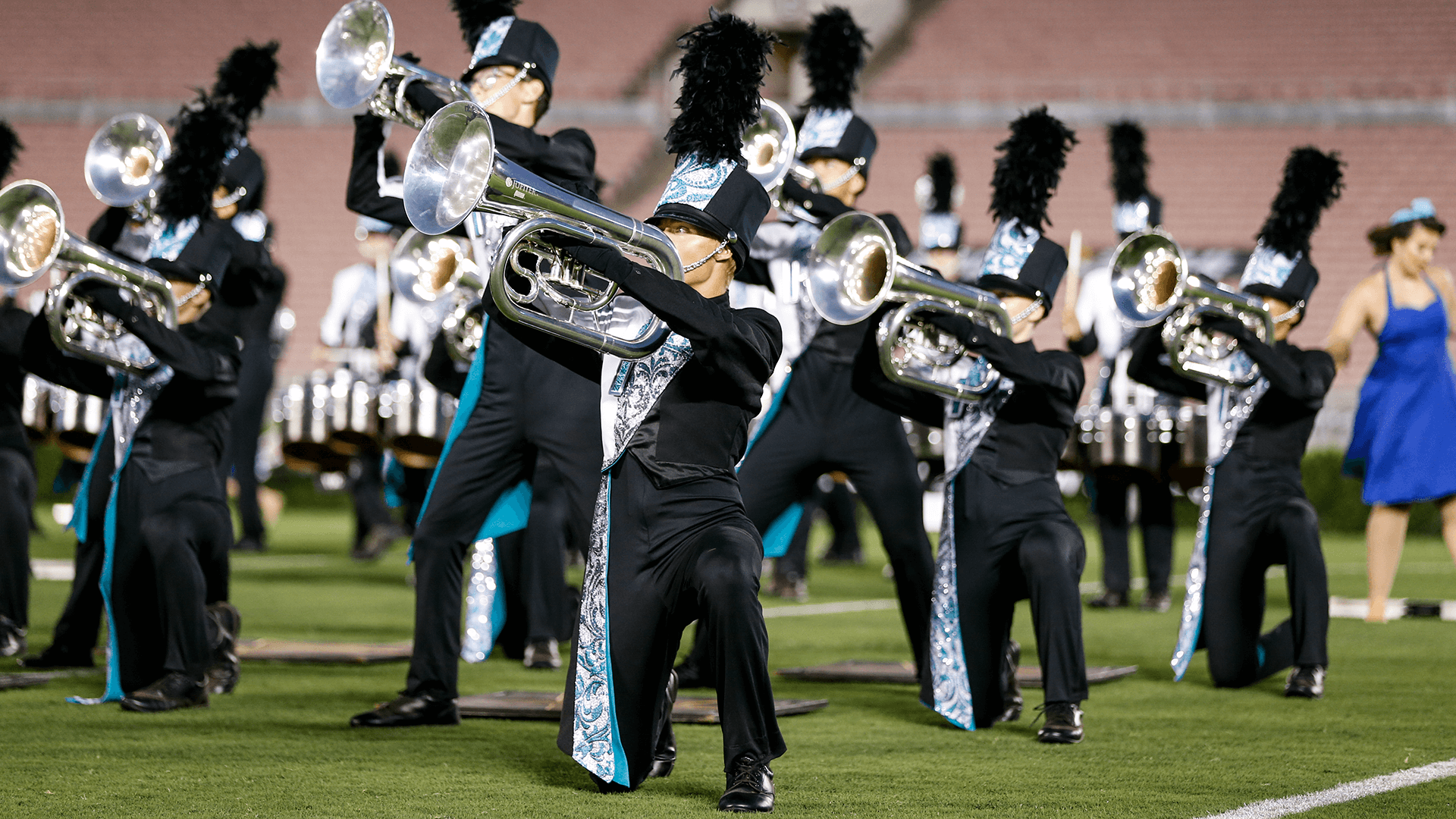 Drum Corps at the Rose Bowl