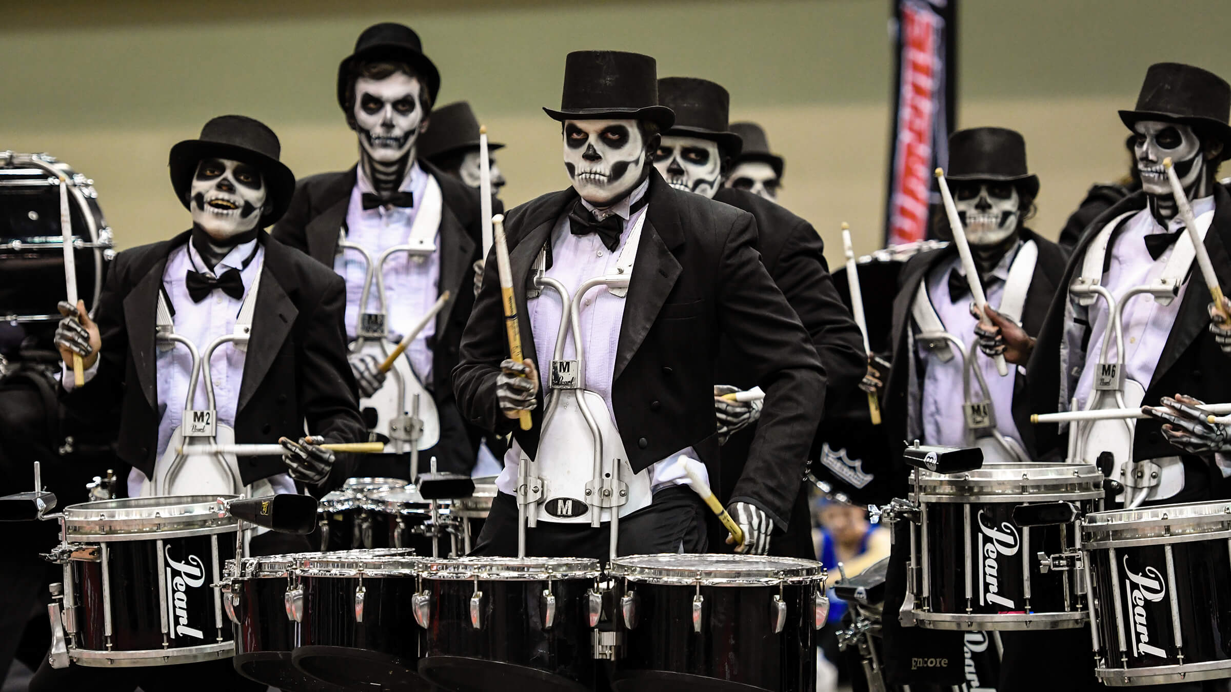 Zombie drum line takes it home again at PASIC