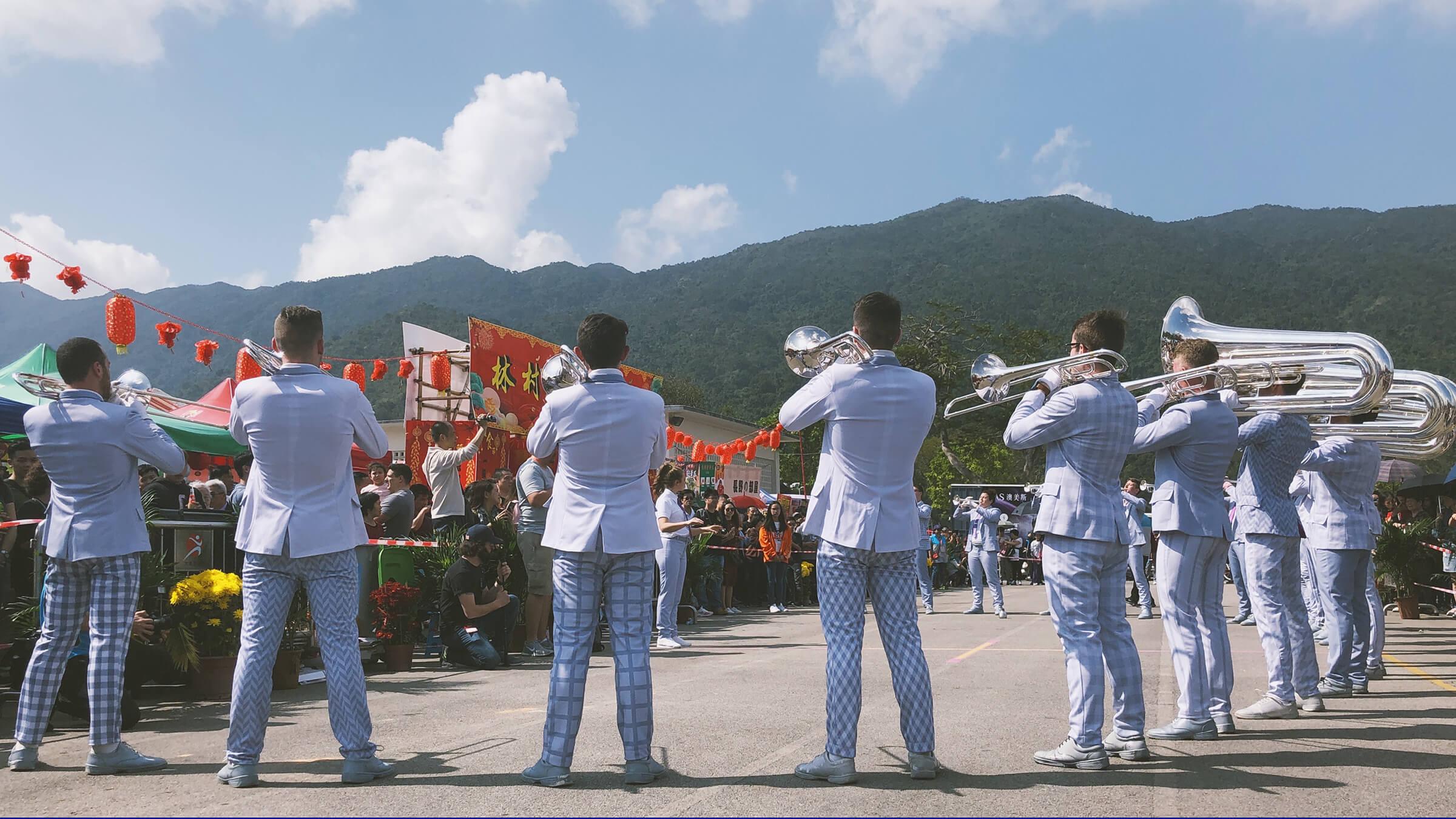 Bloo Voyage: Bluecoats dazzle in Hong Kong