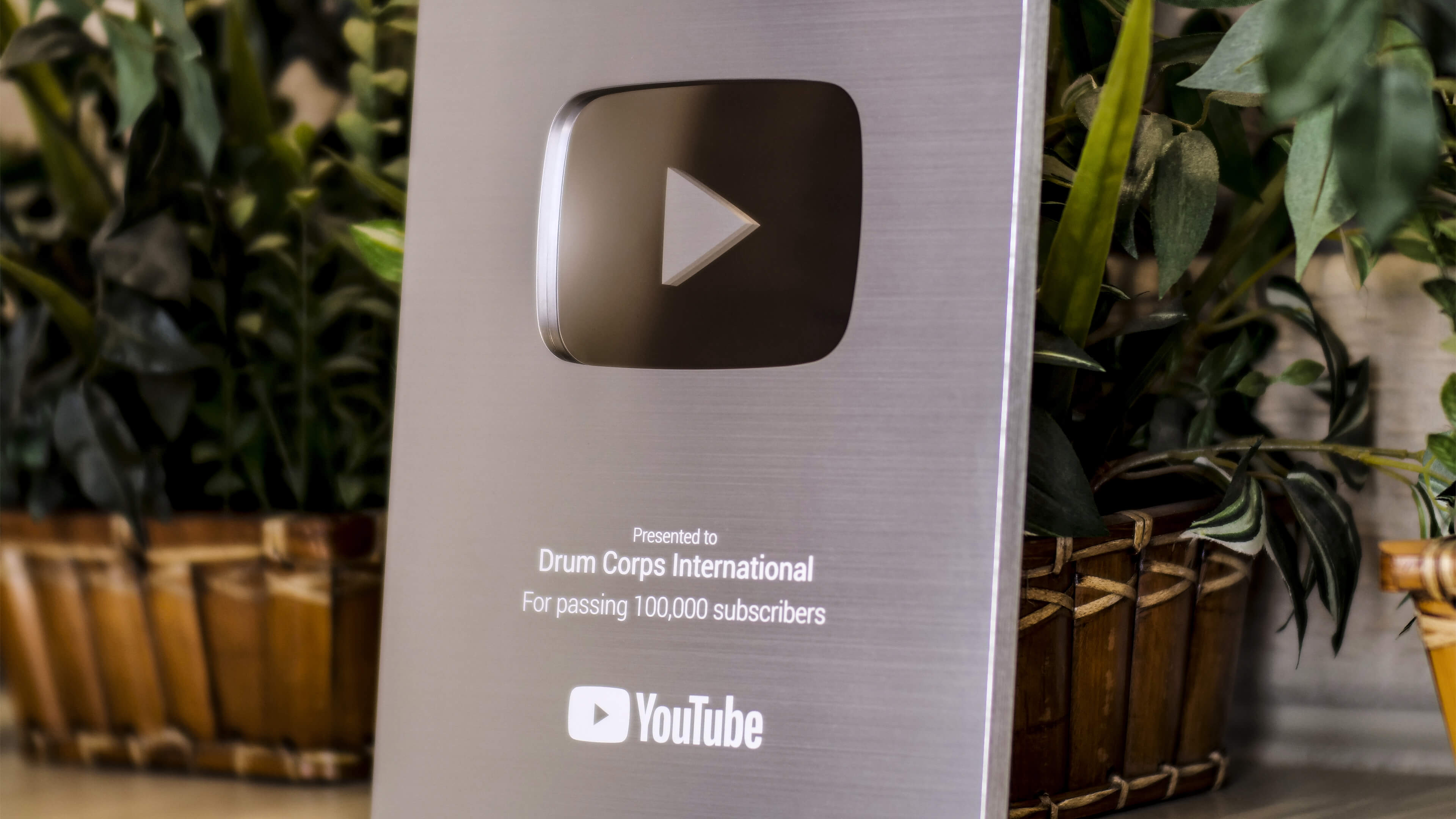 DCI YouTube channel hits elite silver milestone