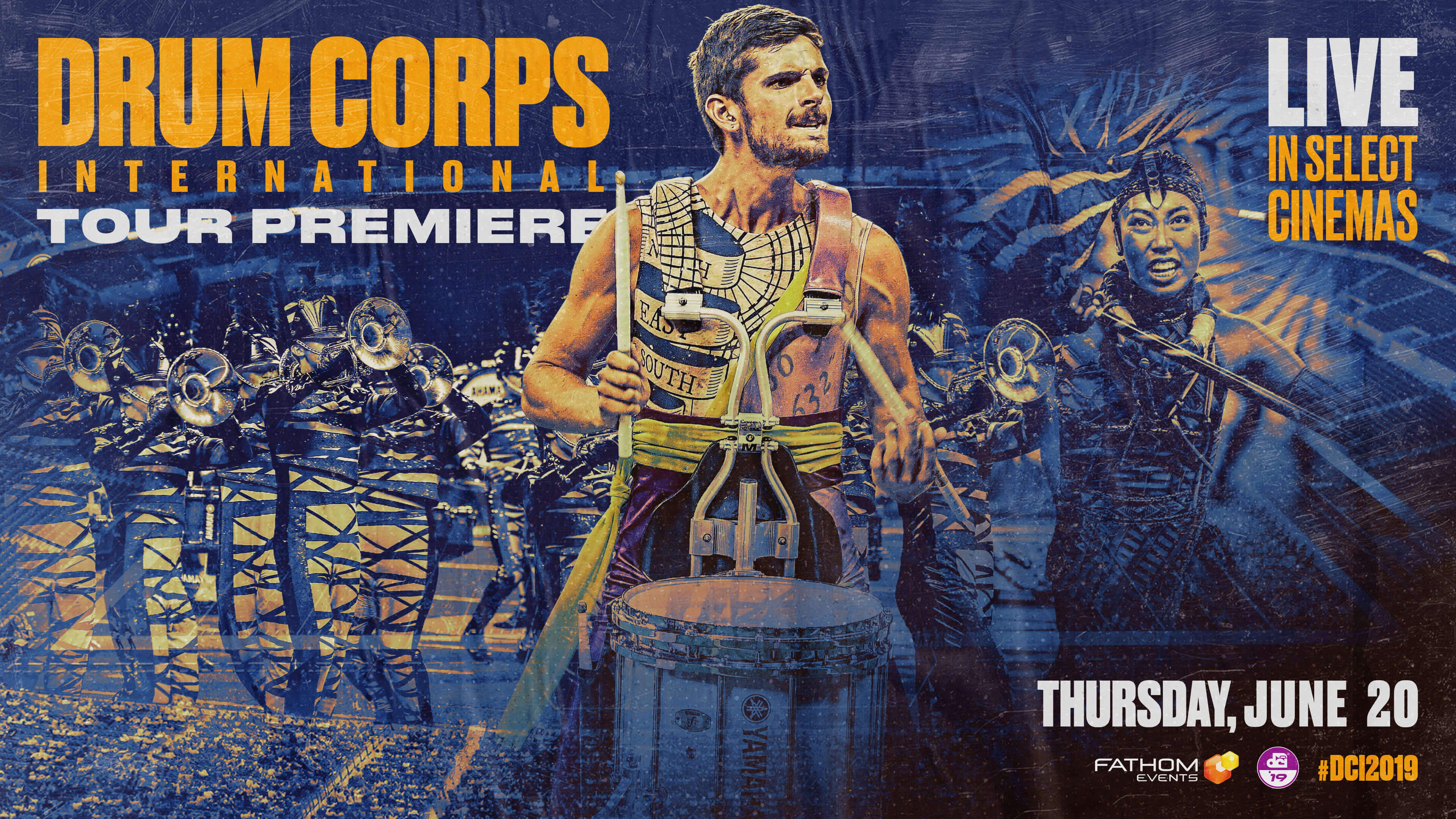 Drum Corps at the Cinema: 2019 DCI Tour Premiere