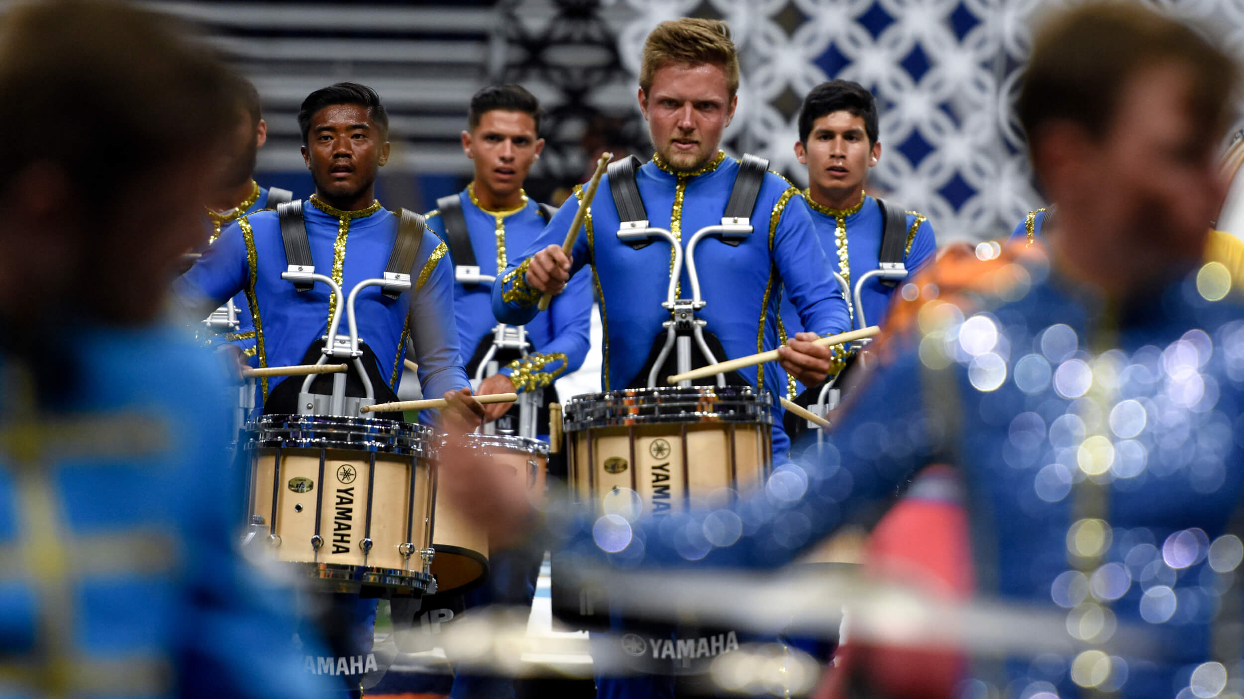 Bluecoats celebrate victory, but remain focused