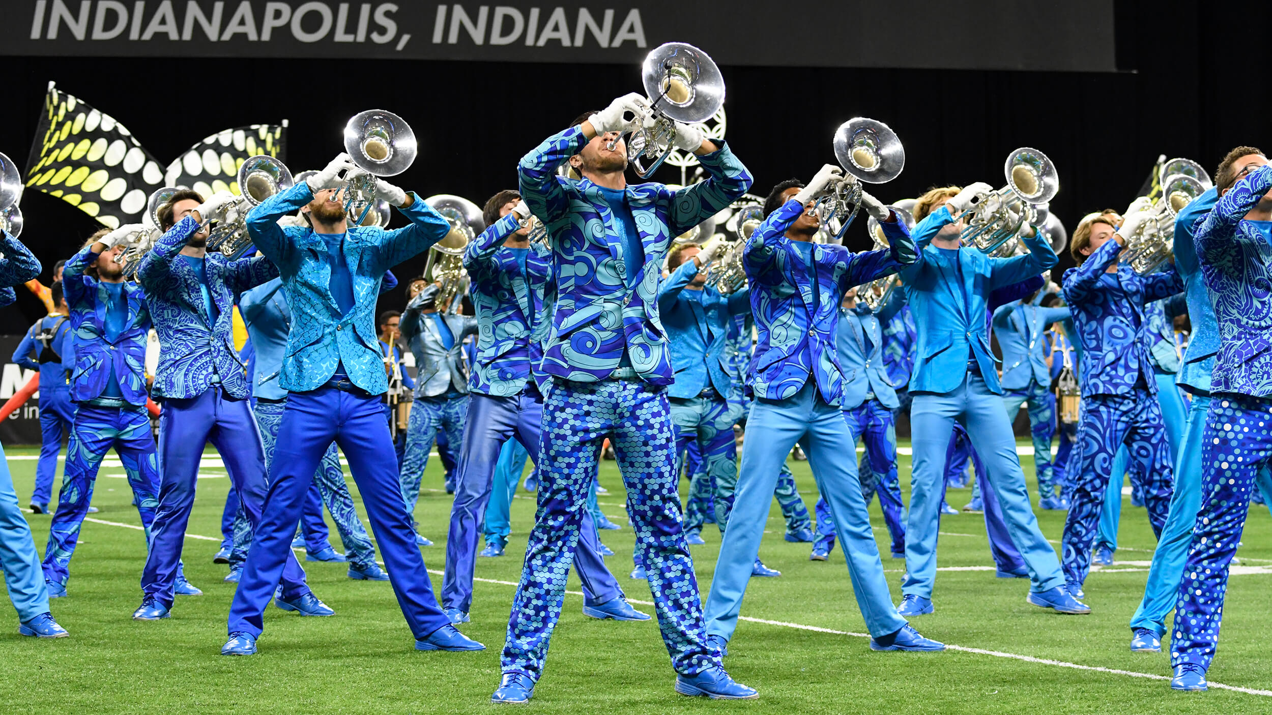 Bluecoats stand tall, top deep Prelims lineup