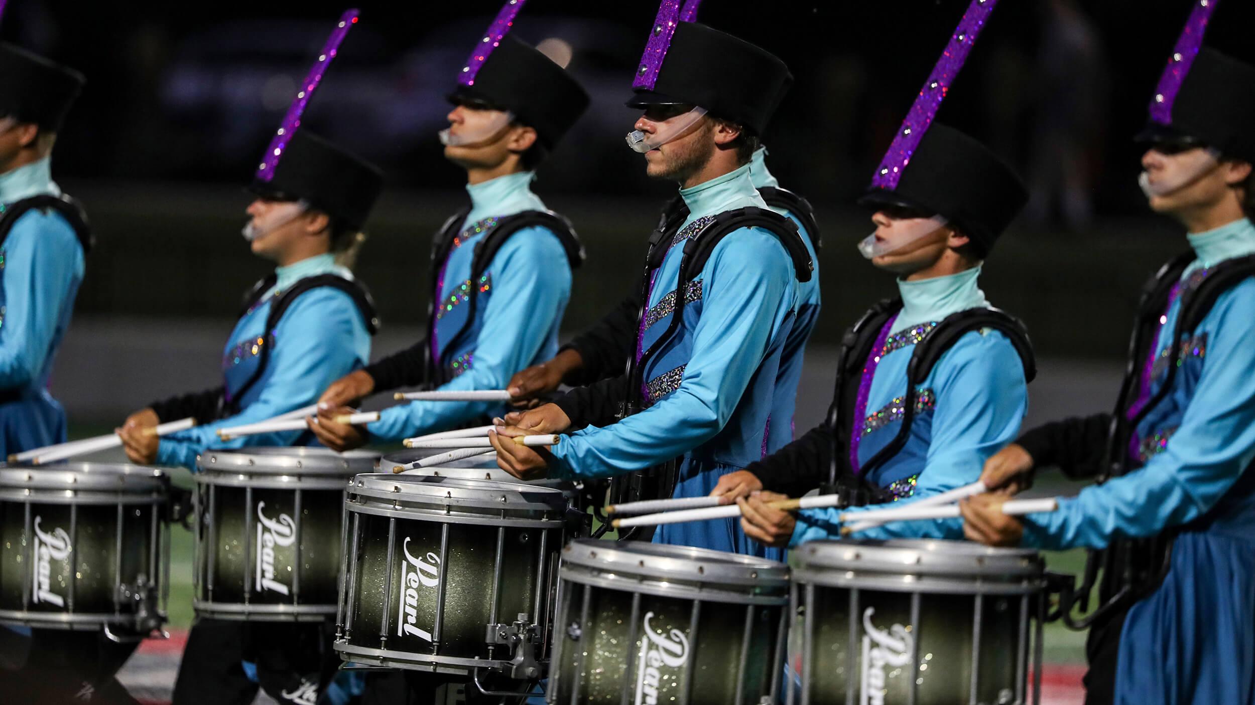 Drums Across Cajun Field
