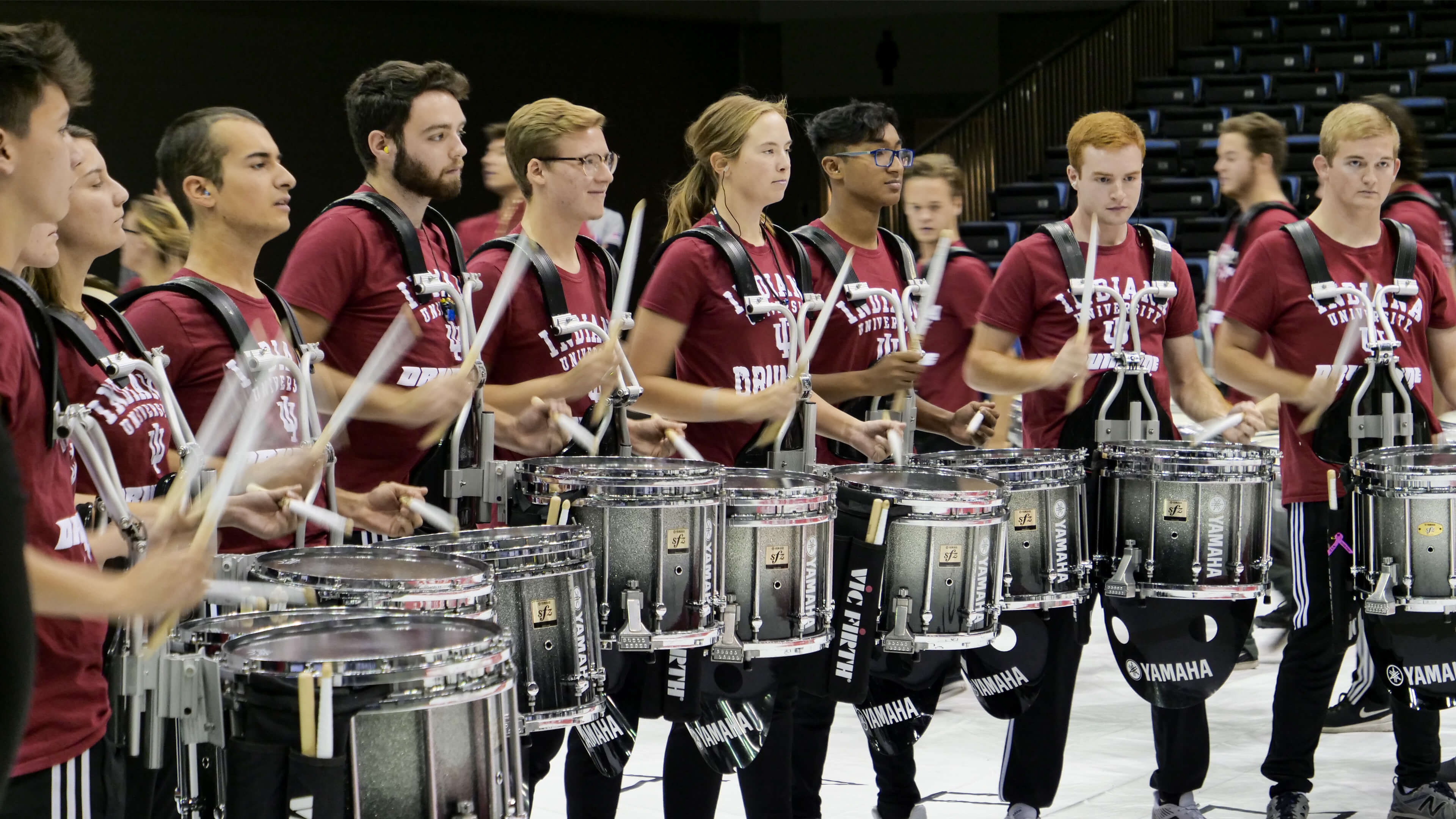 Marching Hundred grabs first PASIC DrumLine Battle title