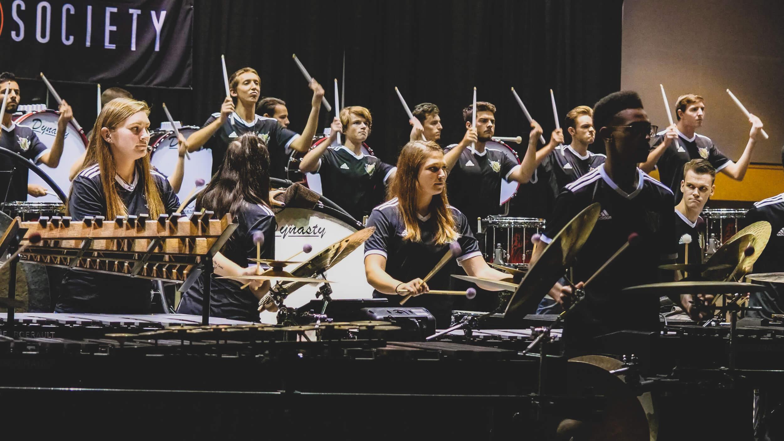 """Vanguard percussion revisits """"Vox Eversio"""" at PASIC"""