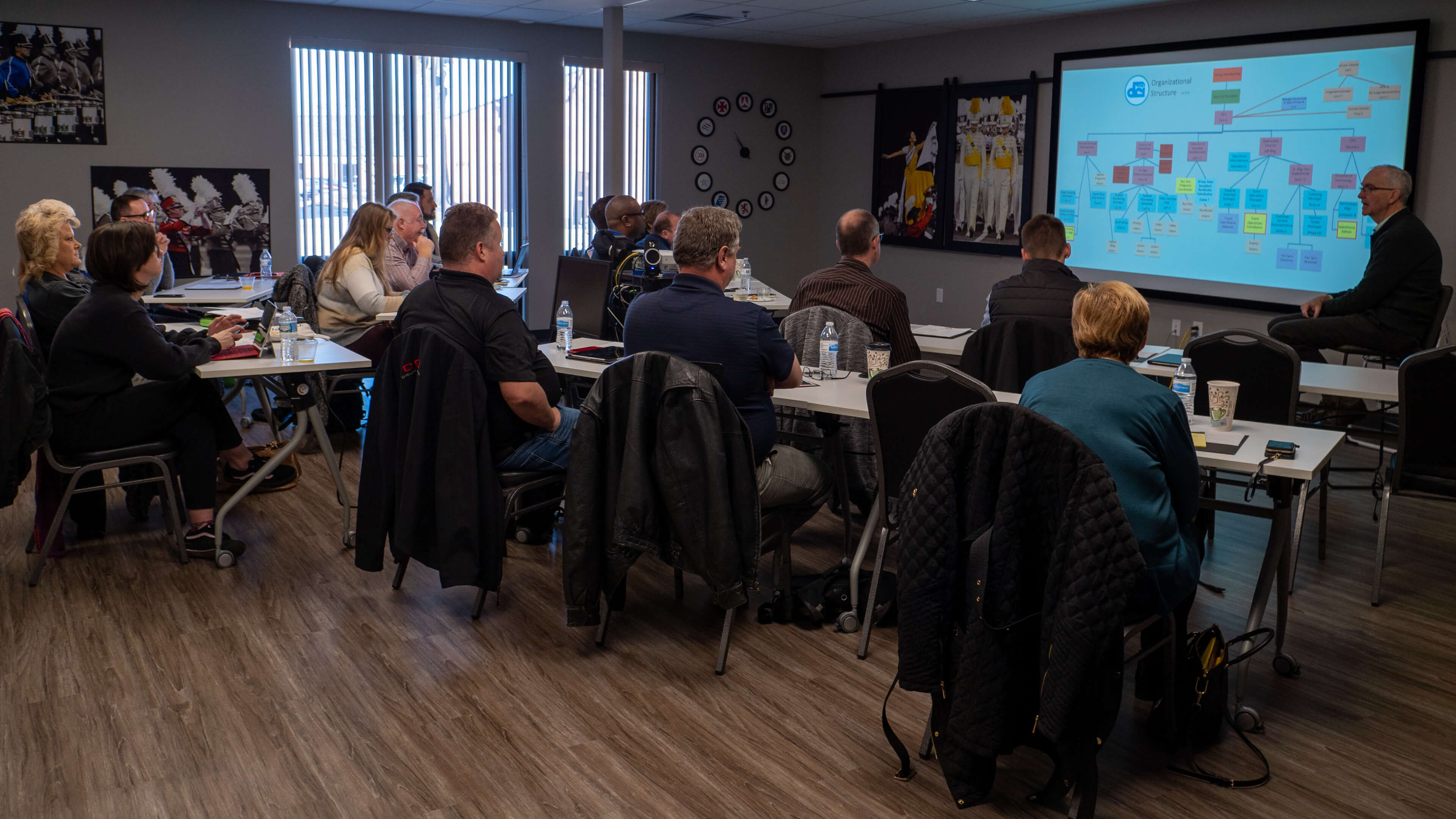 New directors gain insights, get acclimated with pre-meeting briefing sessions