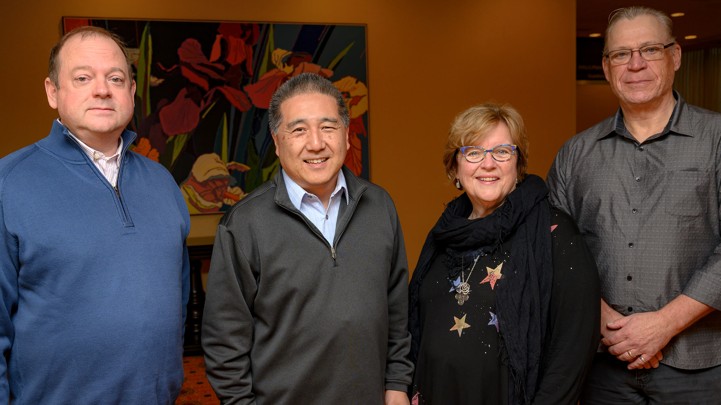 Newly-elected board members attend first meeting of 2020