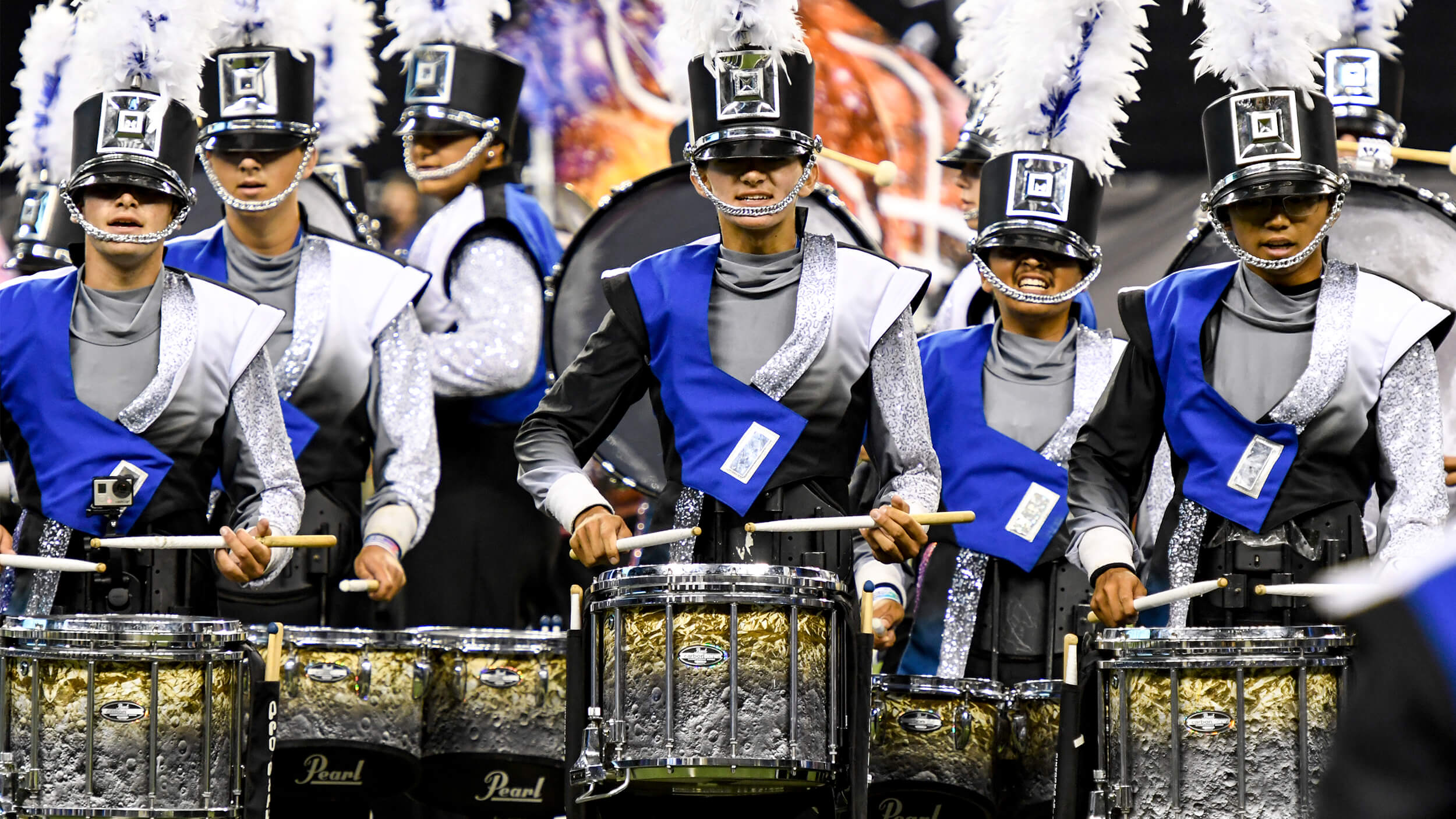 Every Open Class Best Percussion Performance caption award winner of the 2010s