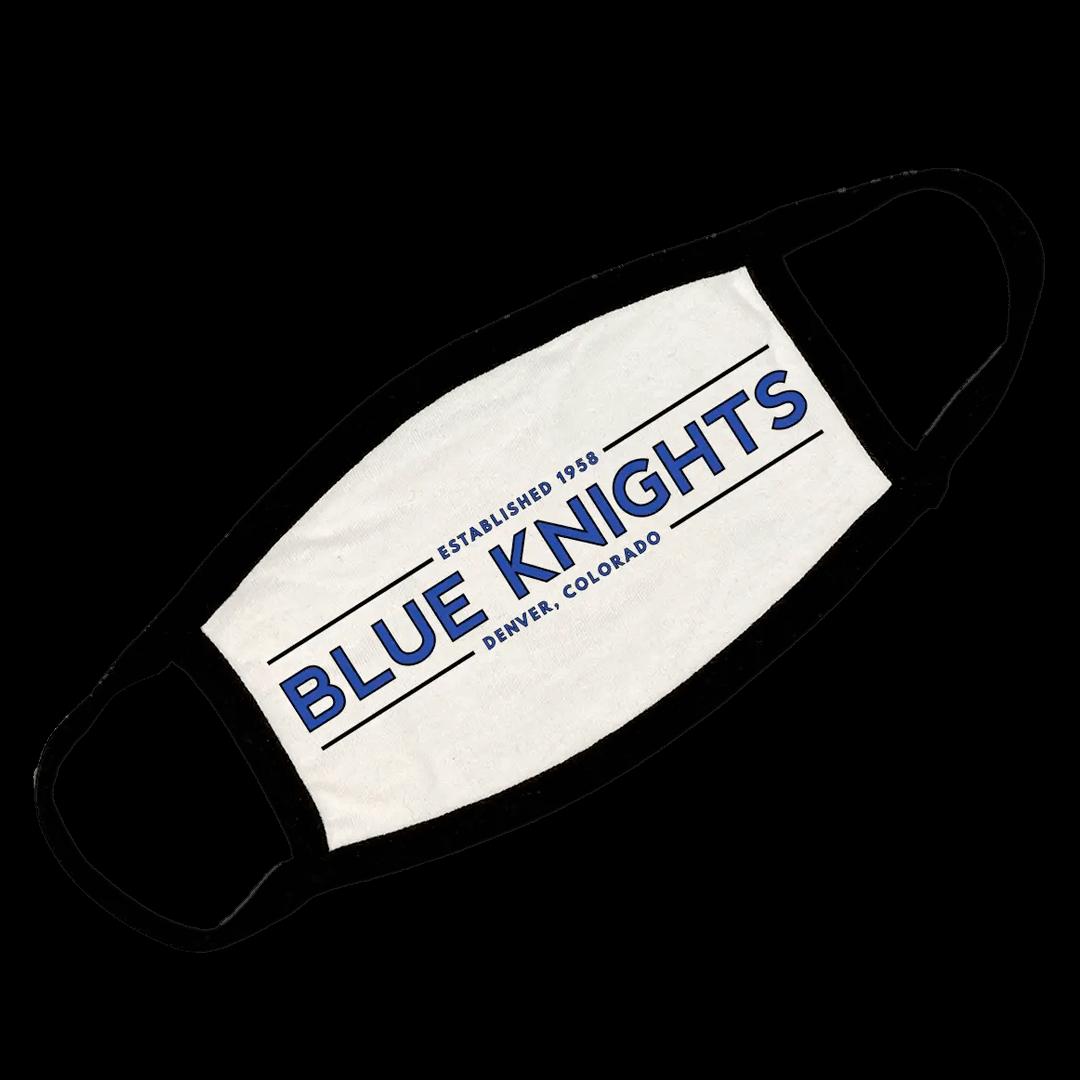 blue knights mask