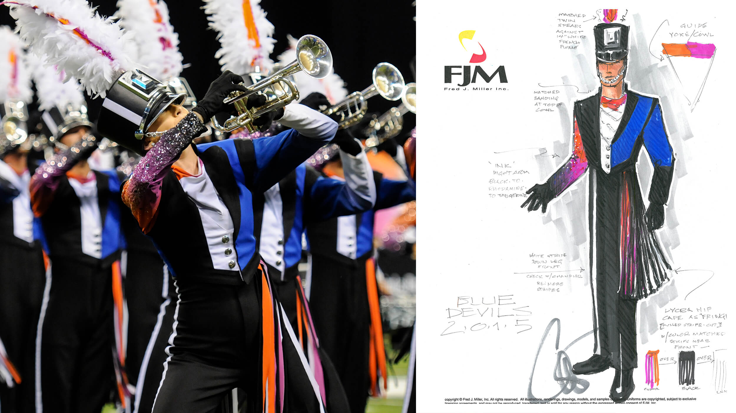 Behind the iconic look of the Blue Devils
